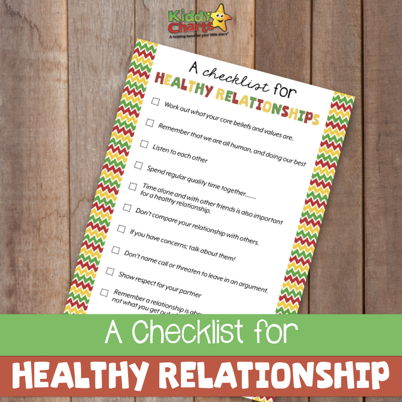 Are you looking to get a bit of relationship advice as a parent - we've got a checklist for having a healthy relationship as a parent - come take a look!