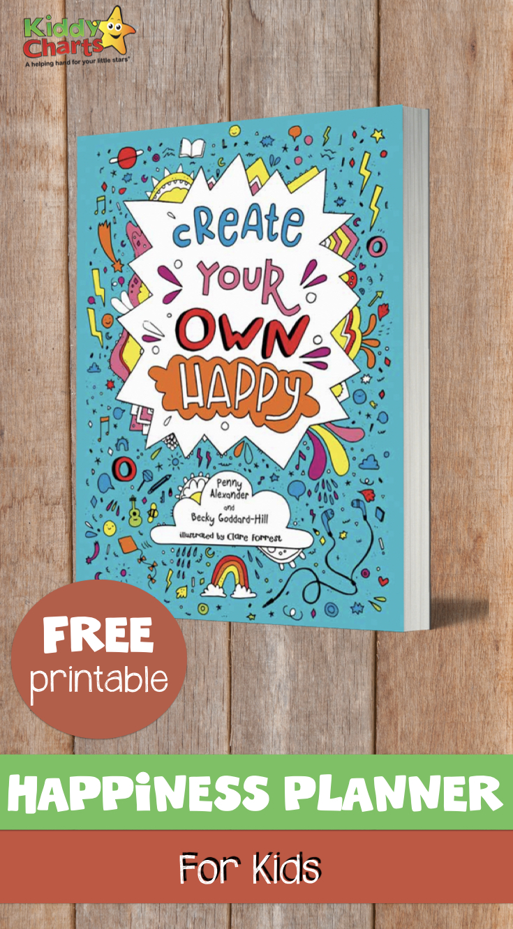 FREE Happiness Planner FOR KIDS PIN.001