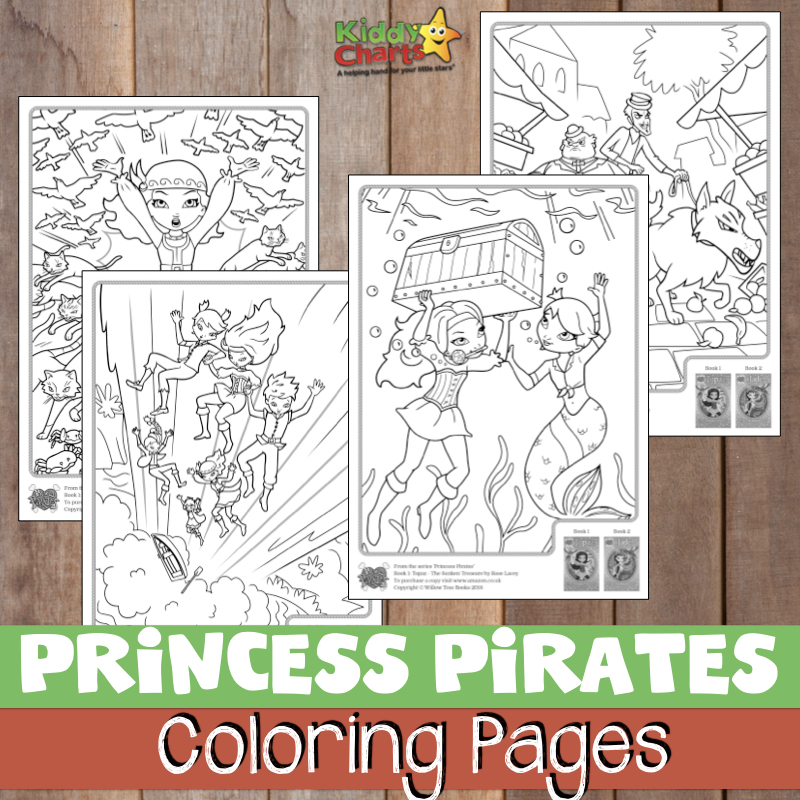 Willow Tree Books are delighted to share some Princess Pirates colouring pages from the first action-packed, swashbuckling adventures in the brand new series by Rose Lacey – Topaz: The Sunken Treasure.