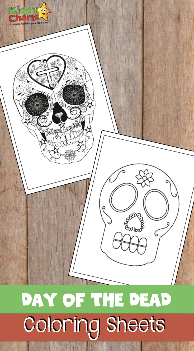 Day of the Dead or Dia de los Muertos is a wonderful festival full of course - so we have some amazing coloring sheets to give to you today. Check them out. #adultcoloring #coloring #dayofthedead #diadelosmuertos