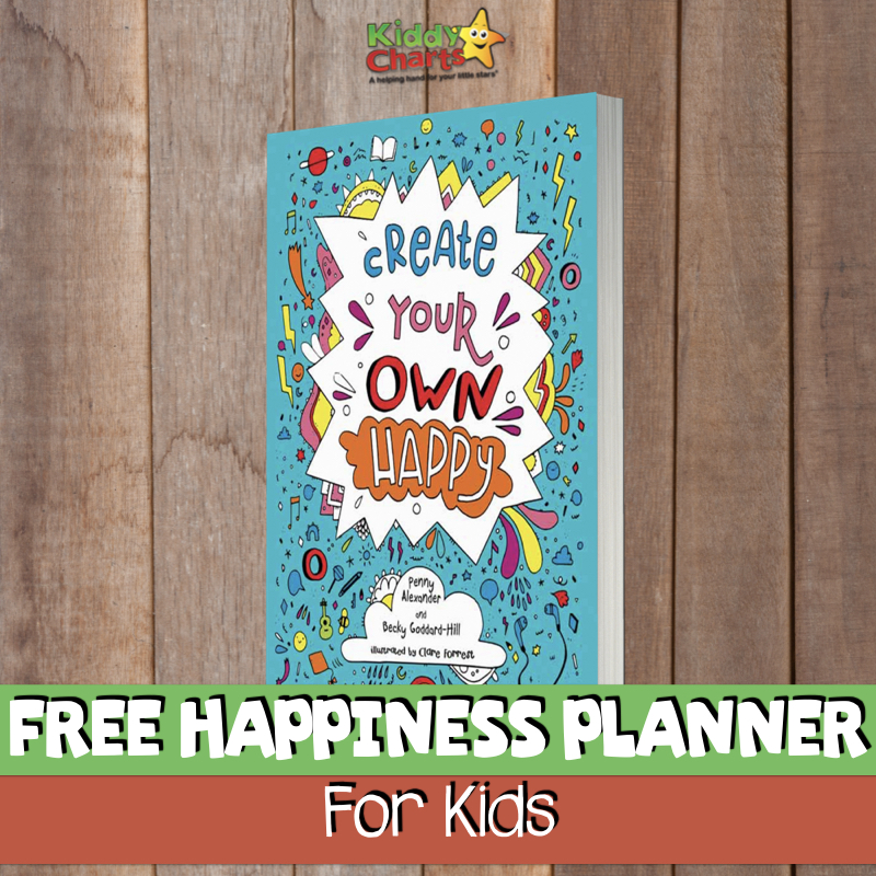 FREE Happiness Planner FOR KIDS
