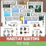 animals habitats for kids