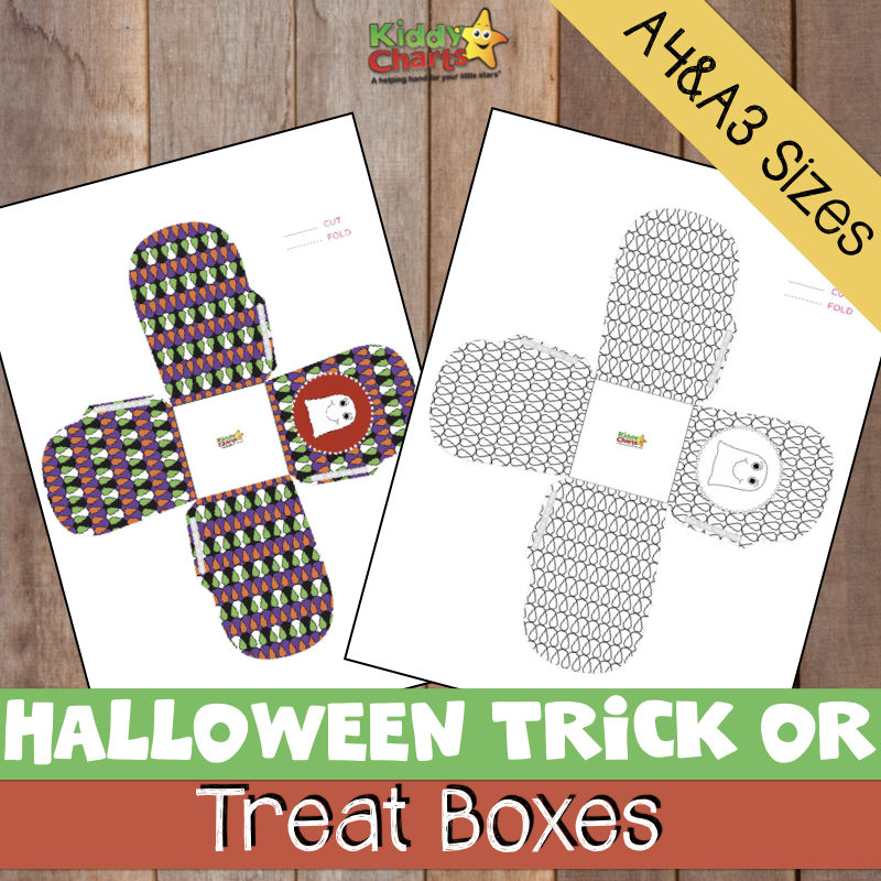 FREE Halloween Trick or Treat boxes