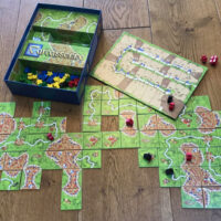 Carcassone board game review #BoardGameClub