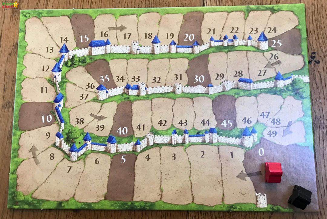 We've been looking at another board game this month; check out our Carcassone review and see what we thought of it! #toys #gifts #reviews #carcassone
