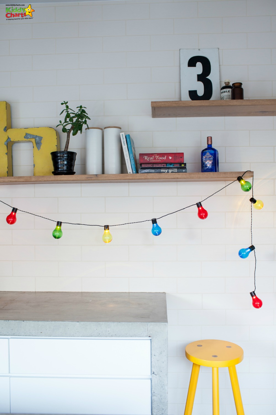 We've got some great kids bedroom ideas for you to get kids imaginations run wild in your house! #kidsbedrooms #lights #fairylights #kids #bedrooms