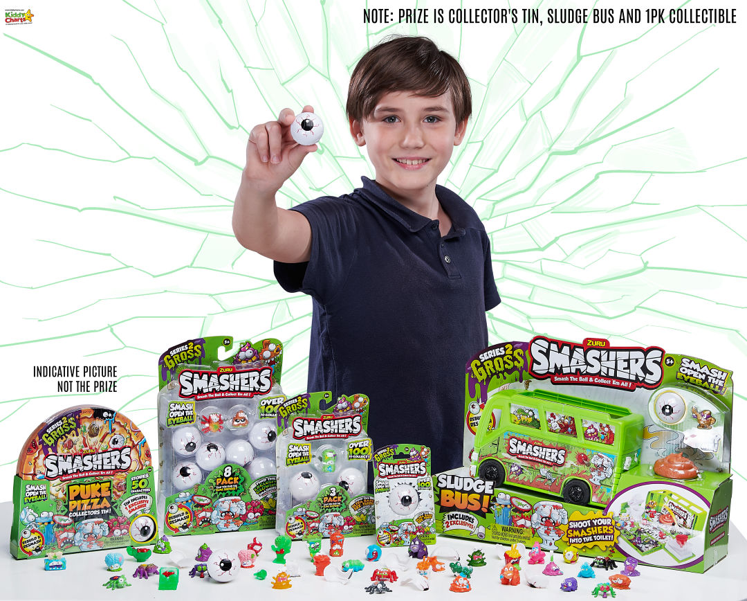 Win a SMASHERS Series 2 GROSS bundle with us! Closes 7th Nov, 2018