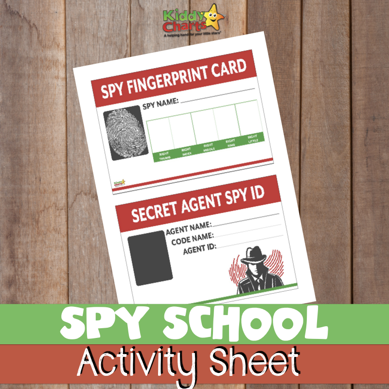 image regarding Secret Agent Badge Printable identified as Spy young children routines: No cost printables for your budding James