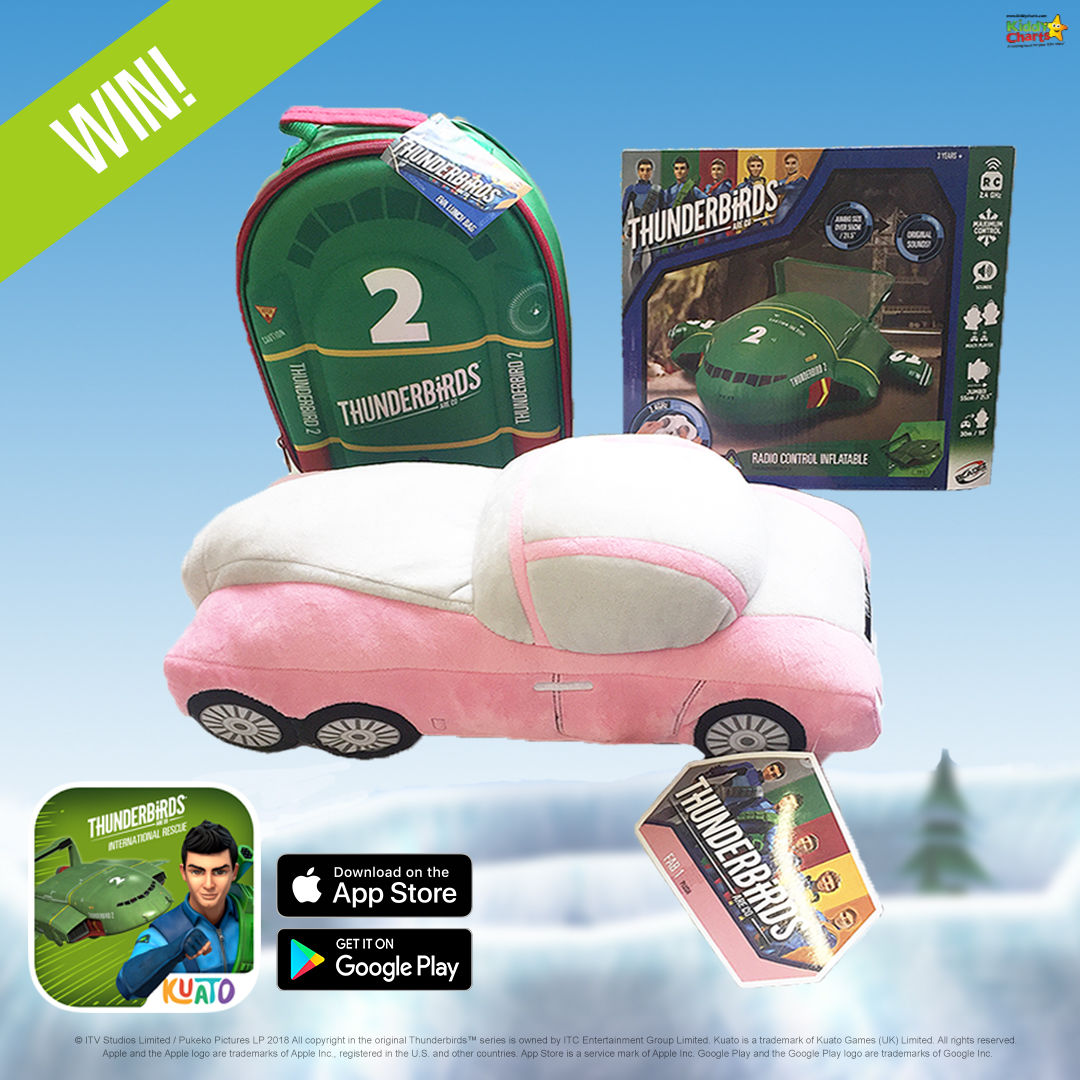 We've got a great Thuderbirds are Go international rescue app release prize bundle for you - why not pop along to the site to try and win it! #giveaways #thunderbirds