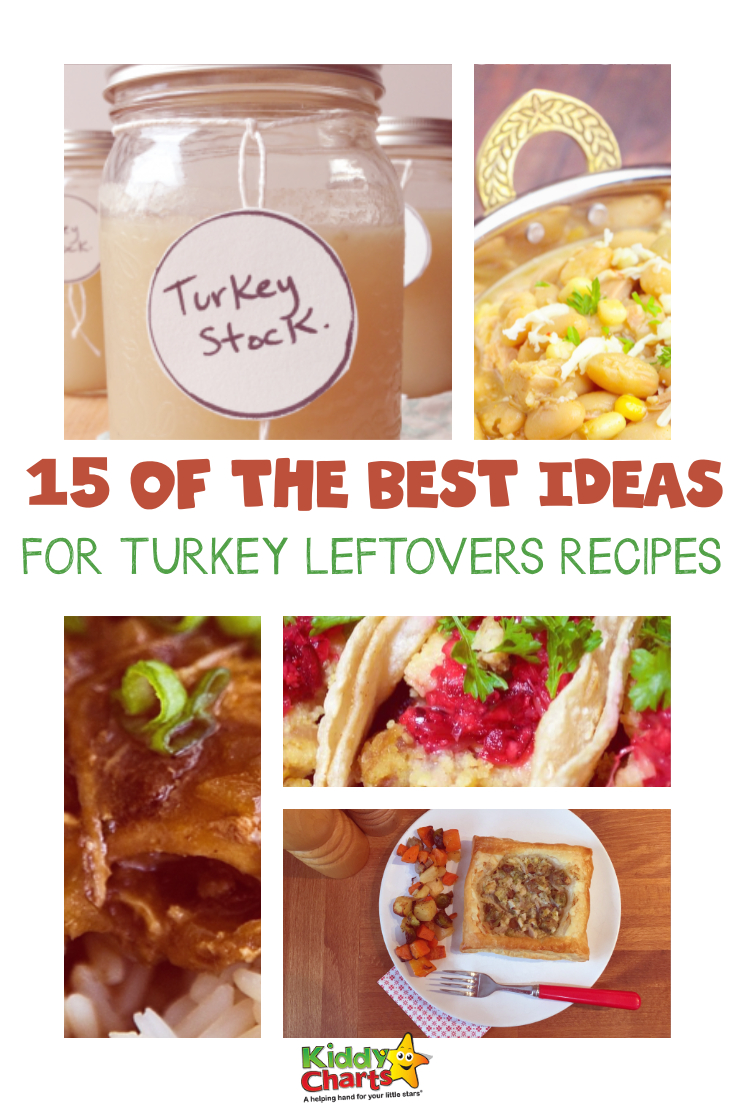 We have the BEST ideas for turkey leftovers on the site - why not go and take a look so you know exactly what to do bird at Xmas or Thanksgiving!