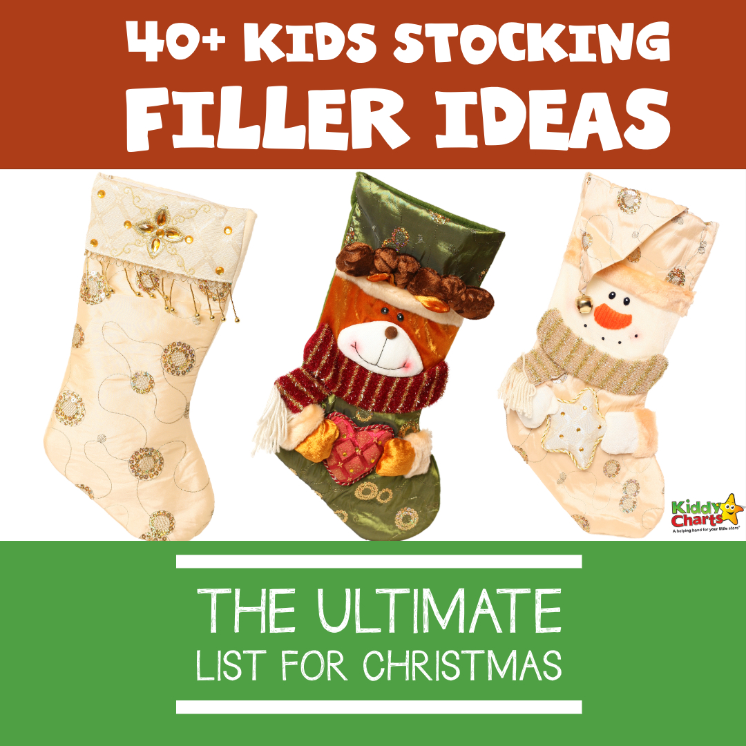 over 40 kids stocking filler ideas for you - what more do you need. Check them all out and make the kids smile this Christmas! #Christmas #ChristmasStockings #ChristmasGifts