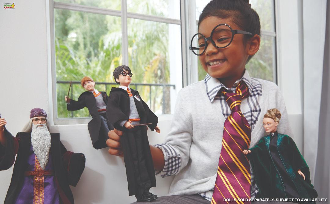 We've got some gorgeous ideas for the best harry potter girts for kids. Come check them all out! #harrypotter #gifts #dolls