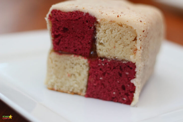 Are you after a vegan battenberg cake? Then this one with Beetroot and Coconut will be perfect for you. Go check it out! #vegan #veganrecipes #vegancakes #battenbergs