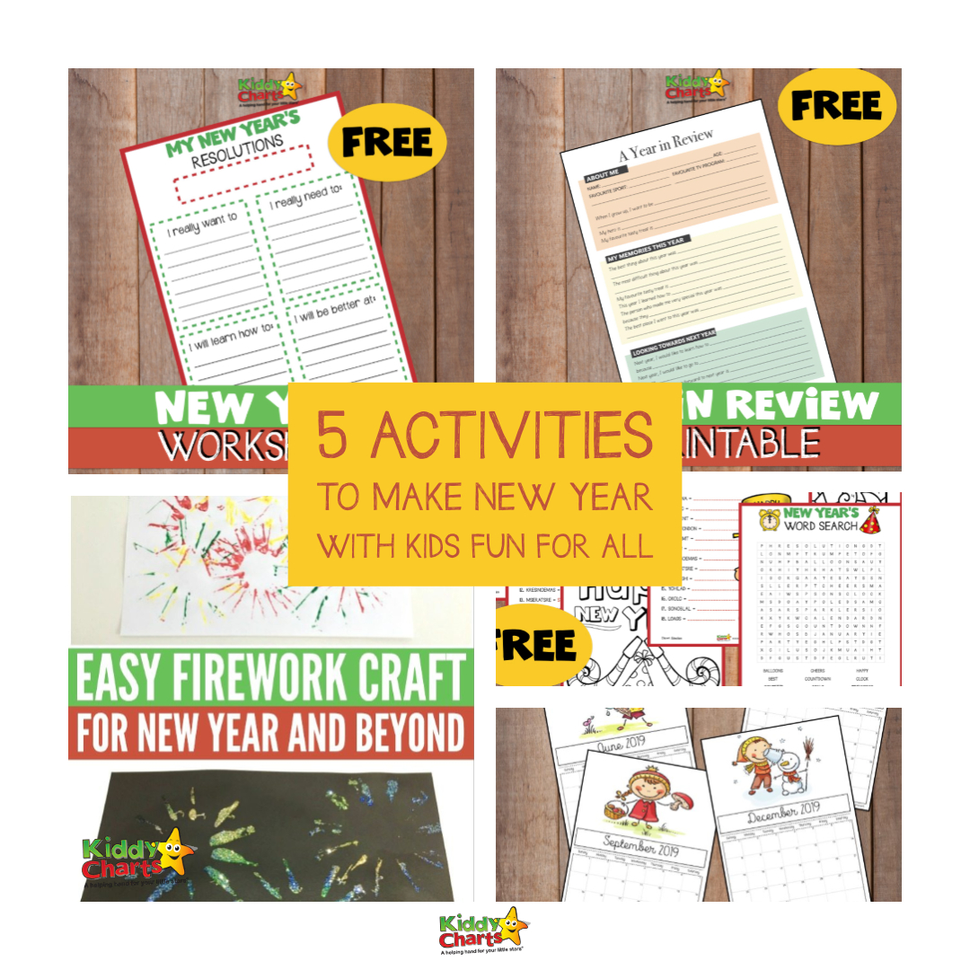 5 activities to make New Year with kids fun for all