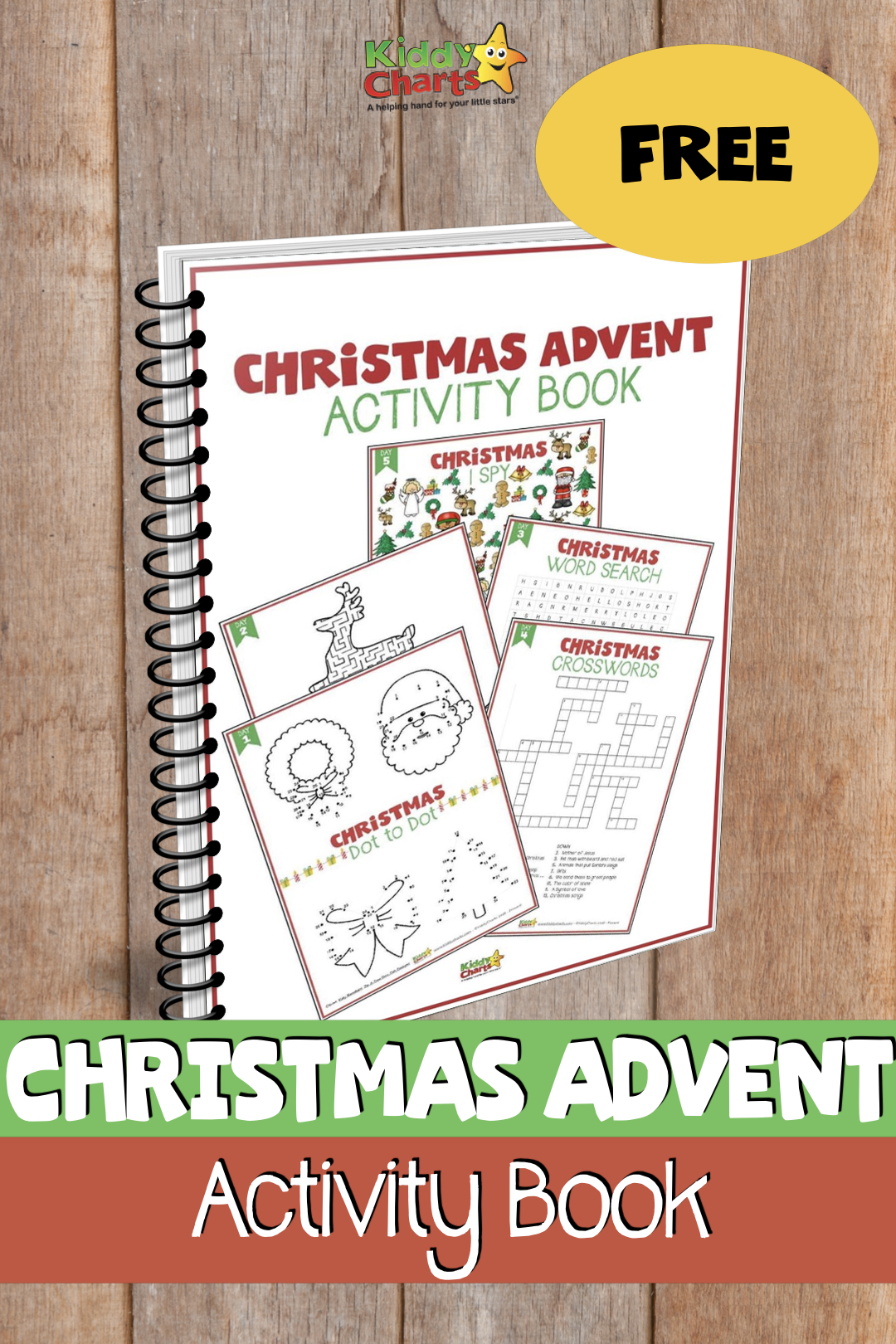We;ve got some amazing Christmas Activities for Kids - 24 of them for you and all free free. Come on in and download them now! #christmas #kids #activities #ebook