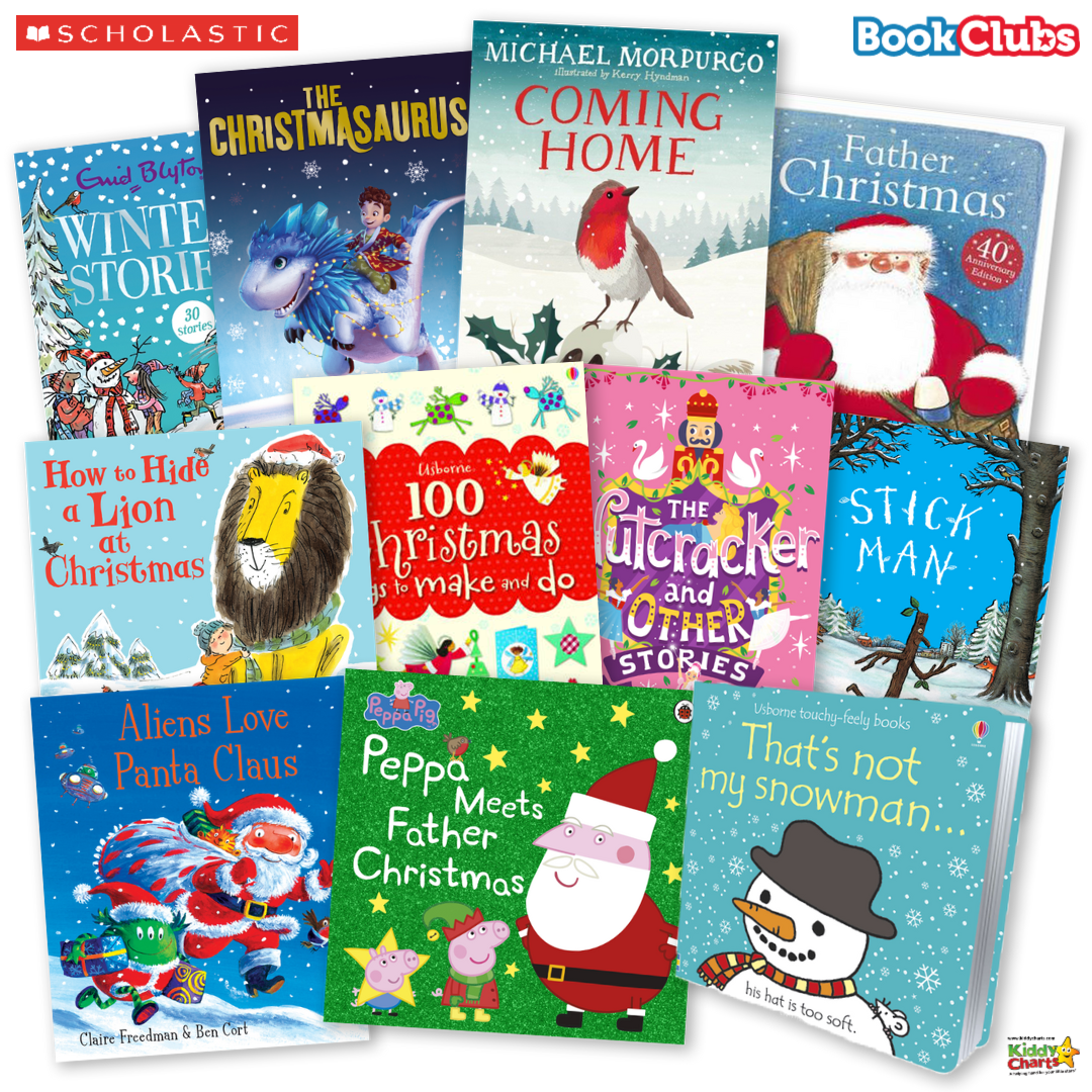Win £75 of fabulous books from Scholastic - and visit the site for more great giveaways too! #giveaways #win #books #reading