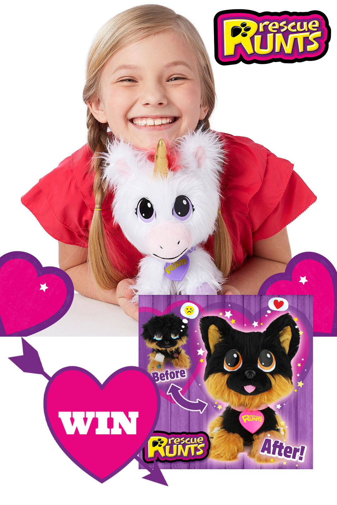 Win a Rescue Runt with us this Advent! #win #giveaways toys