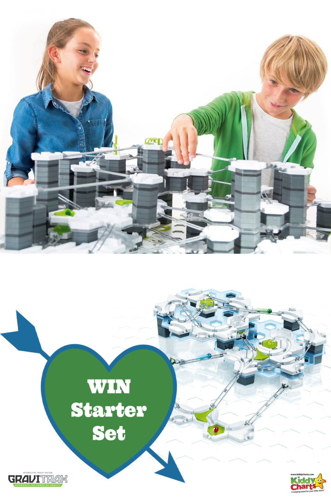Win a Gravitrax Starter Set - the perfect STEM gift for the kids! #STEMToys #STEM #Gifts