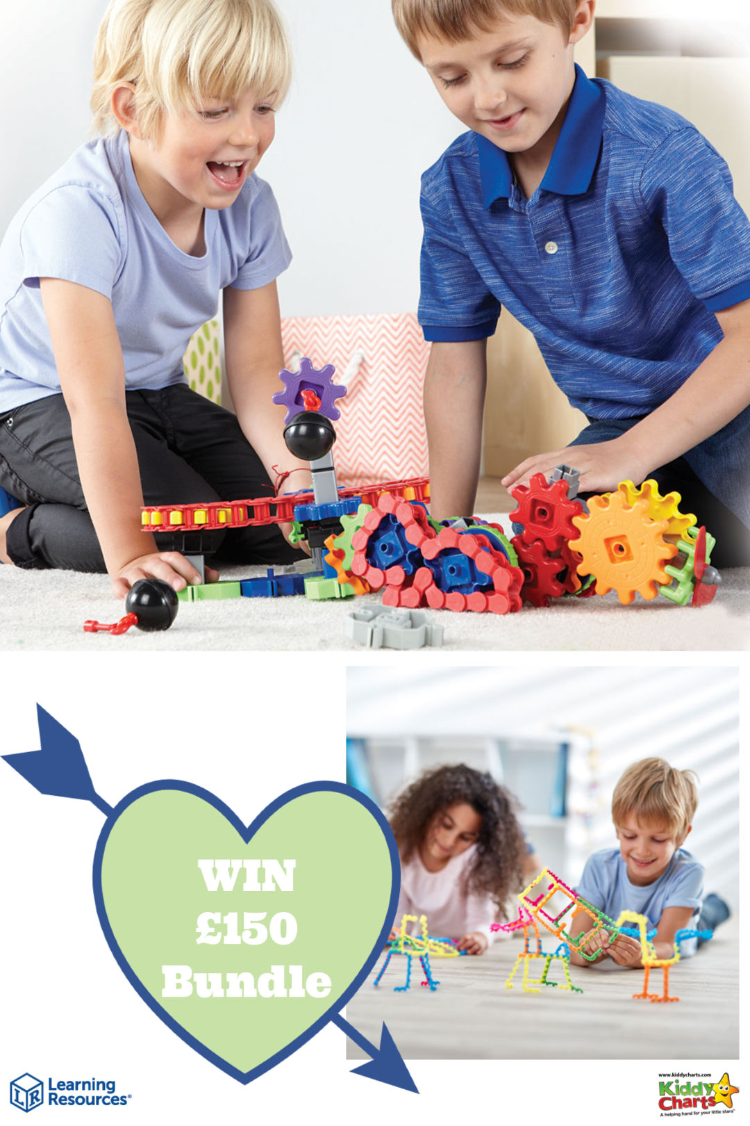 Win an amazing £150 bundle of toys from Learning Resources! #win #giveaways #toys