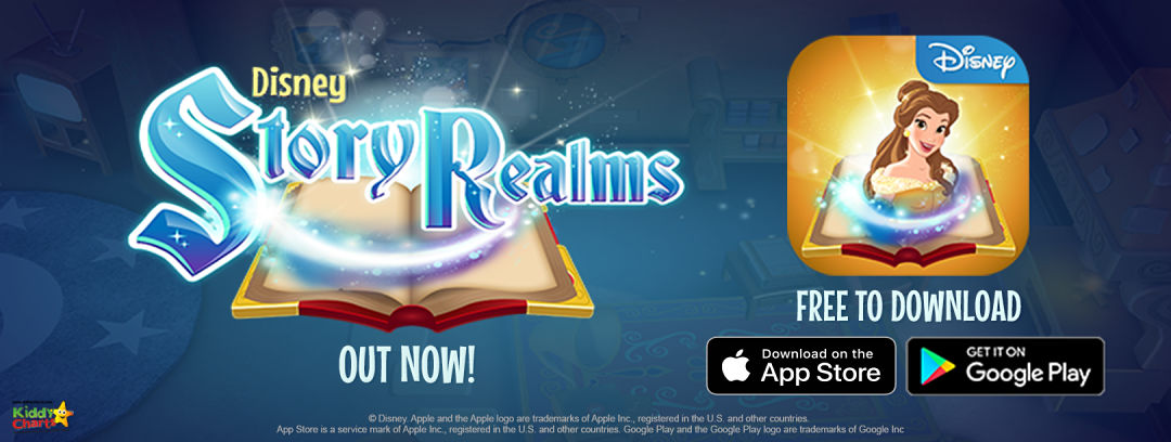 We have £100 Disney Voucher to give away to celebrate the Disney Story Realms App release; pop over and try and win! #giveaways #win #disney