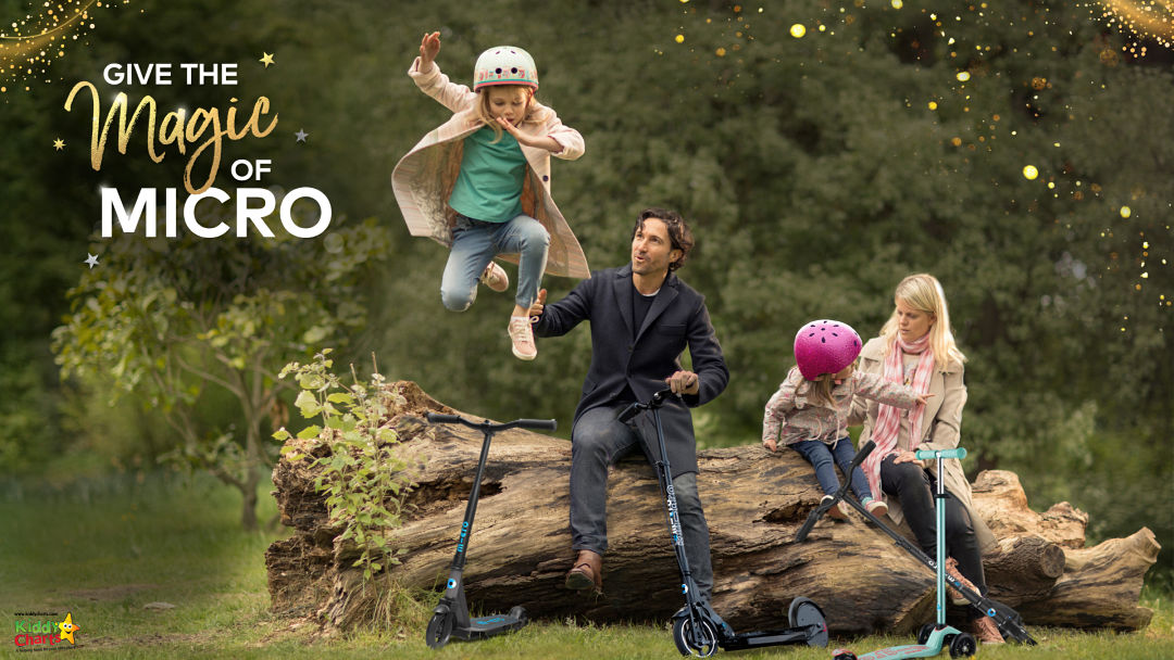 Win Micro Scooters for the whole family - just amazing! #microscooters #win #giveaway