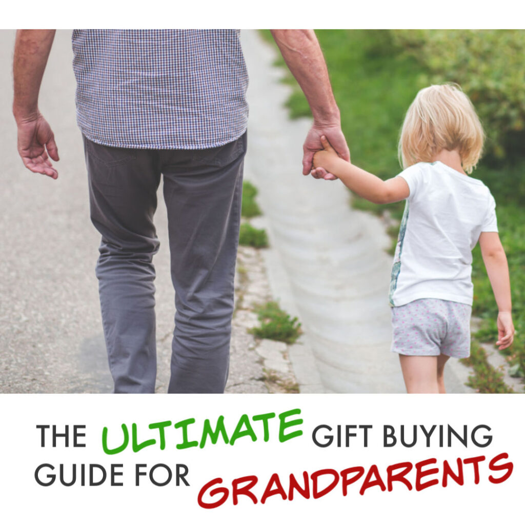 Looking for a gift for the Grankids, then we've got you covered! Check out our ultimate gift buying guide for grandparents everywhere! #grandparents #gifts #giftguides #presents #kids