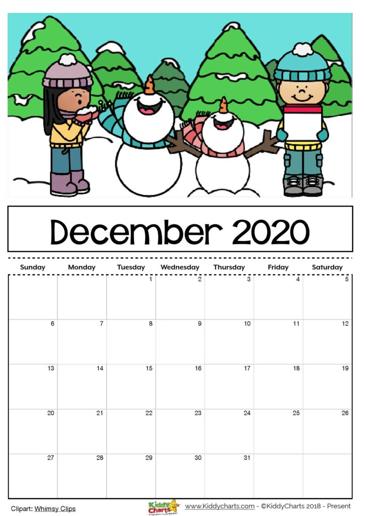 Looking for a calendar? Then we've got it for you - come take a look now! #calendar2020 #printables #kidsprintables #calendars #kids