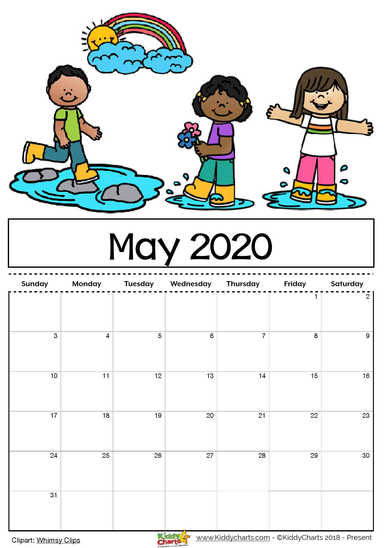 This is a graphic of Critical Free Printable Calendars for 2020