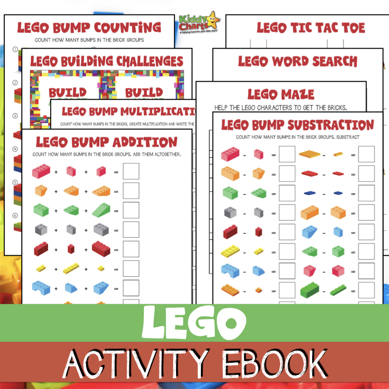 Lego activities ebook for FREE for the kids
