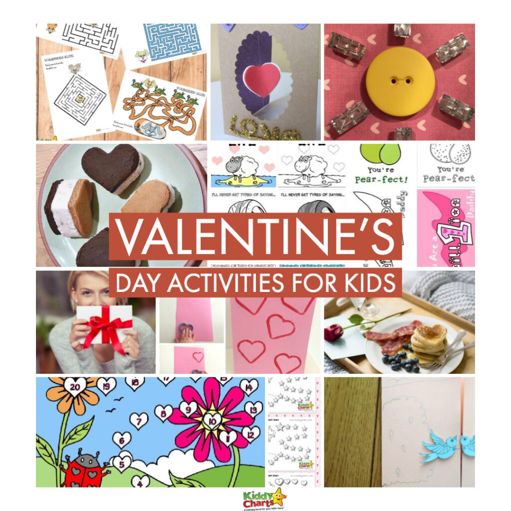 With Valentine's Day fast approaching, here's a selection of Valentine's Day activities for kids to get them in the mood for this special day #Valentine'sDay #Valentine #Activities