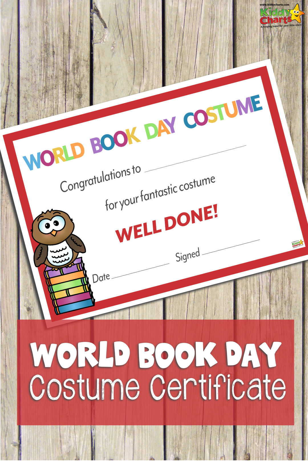 If you are after a World Book Day certificate for the best costume- we'd got one! Download it today. #boos #worldbokday #learning #certificates #free