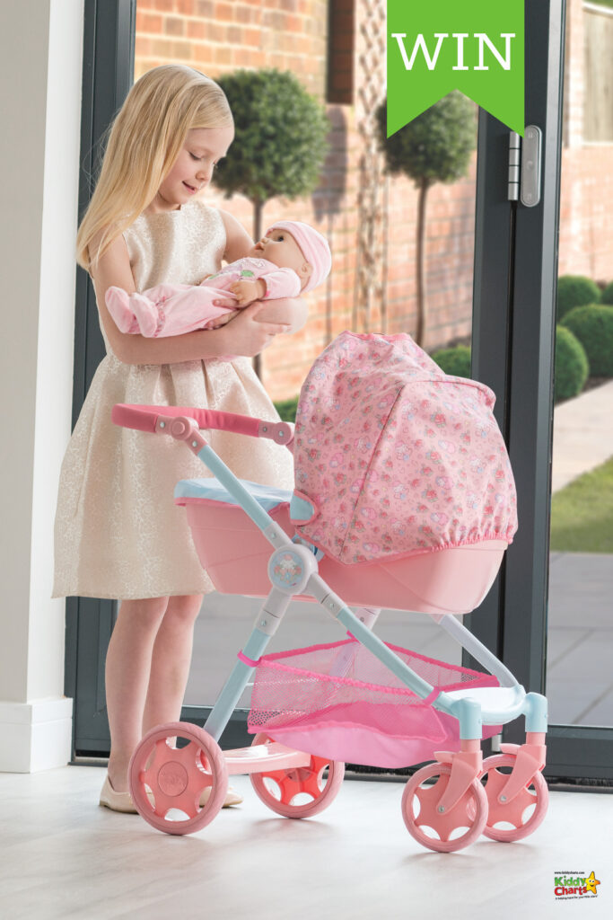 Win a fabulous pram with Baby Annabelle - ends 21st Feb #giveaways #win #babyannabell