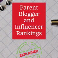 Parent blogger and influencer rankings explained