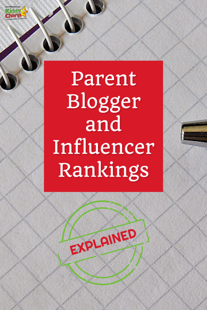 What are influencer rankings all about - what in them, how are they calculated, and why should brands and influencers even bother? #parentbloggers #blogging #bloggingtips #influencers #parents #marketing #socialmedia