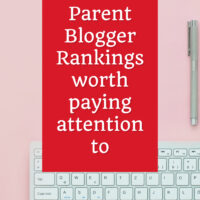 15 parent blogger rankings worth spending time on