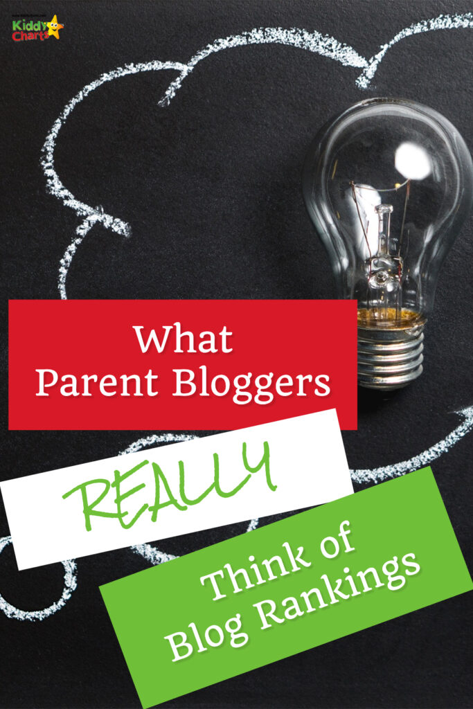 What do parent bloggers and influencers really think of blog rankings - and we mean REALLY! Check it out, and join the discussion too #parentbloggers #blogging #bloggingtips #influencers #parents #marketing #socialmedia