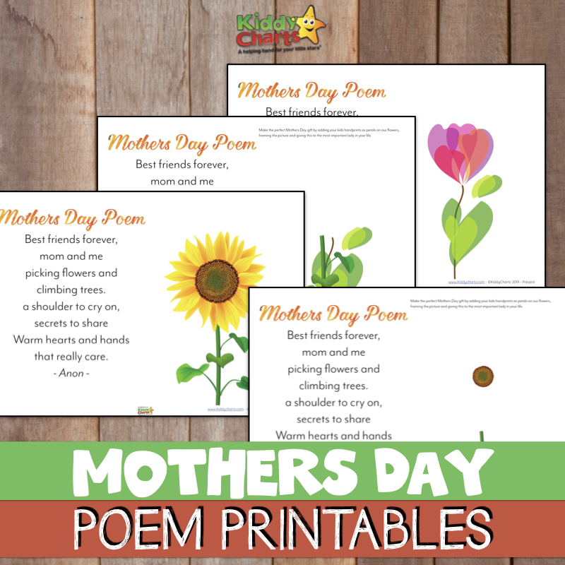 photo regarding Printable Mother Day Poems titled Totally free handprint Moms Working day poem printable