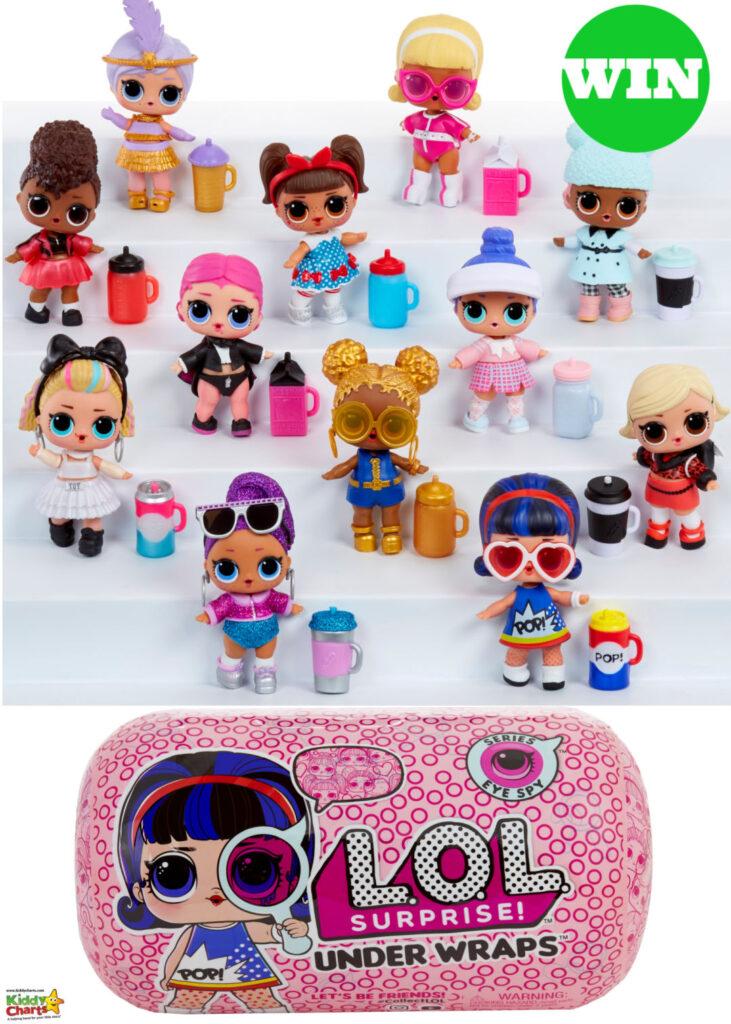 Win L.O.L eye soy series dolls!