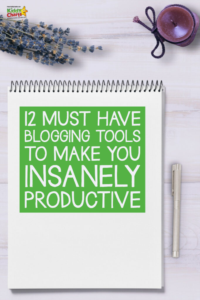 12 must have blogging tools to make you insanely productive