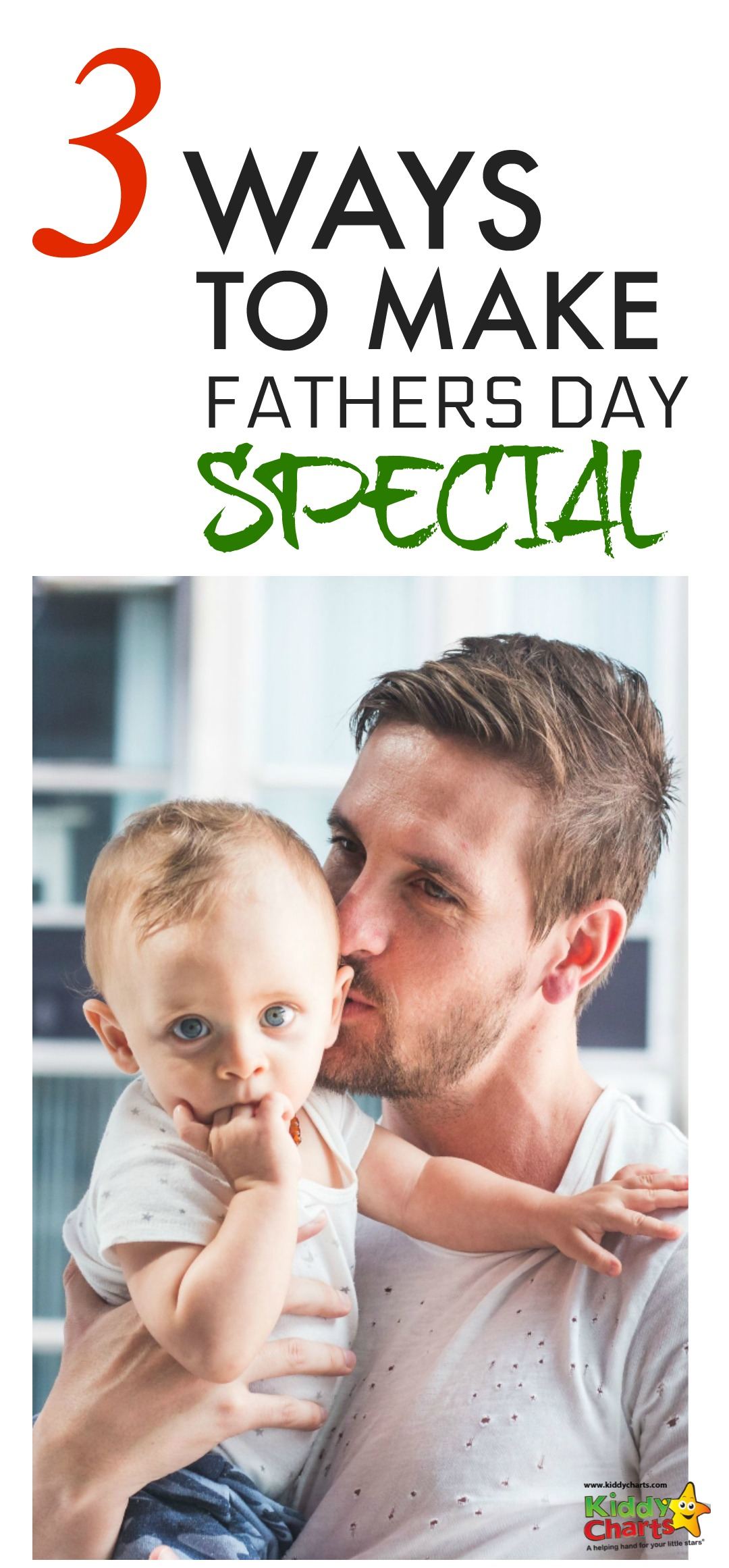 Are you looking for ideas for Fathers Day? We've got three ways you can involve the kids in it more, even when they are young, so you can make it special! #fathersday #fathersdayideas #kids #fathers #giftideas #planning