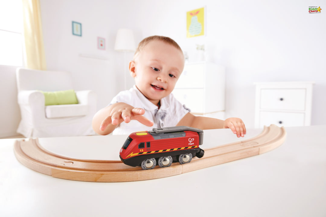 Don't miss out on the chance to win this almighty MEGA wooden train bundle giveaway from Hape!
