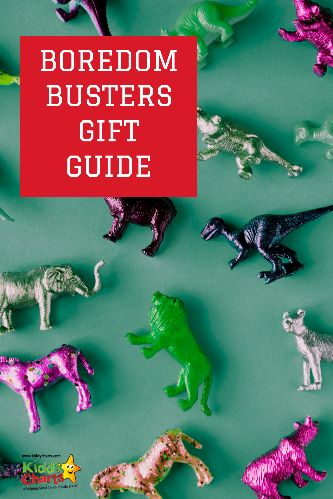 We have a gorgeous boredom busters gift guide for kids aged about 4-8; check them out, and if its before 10th May - you can win them ALL (£300 worth a goodies)