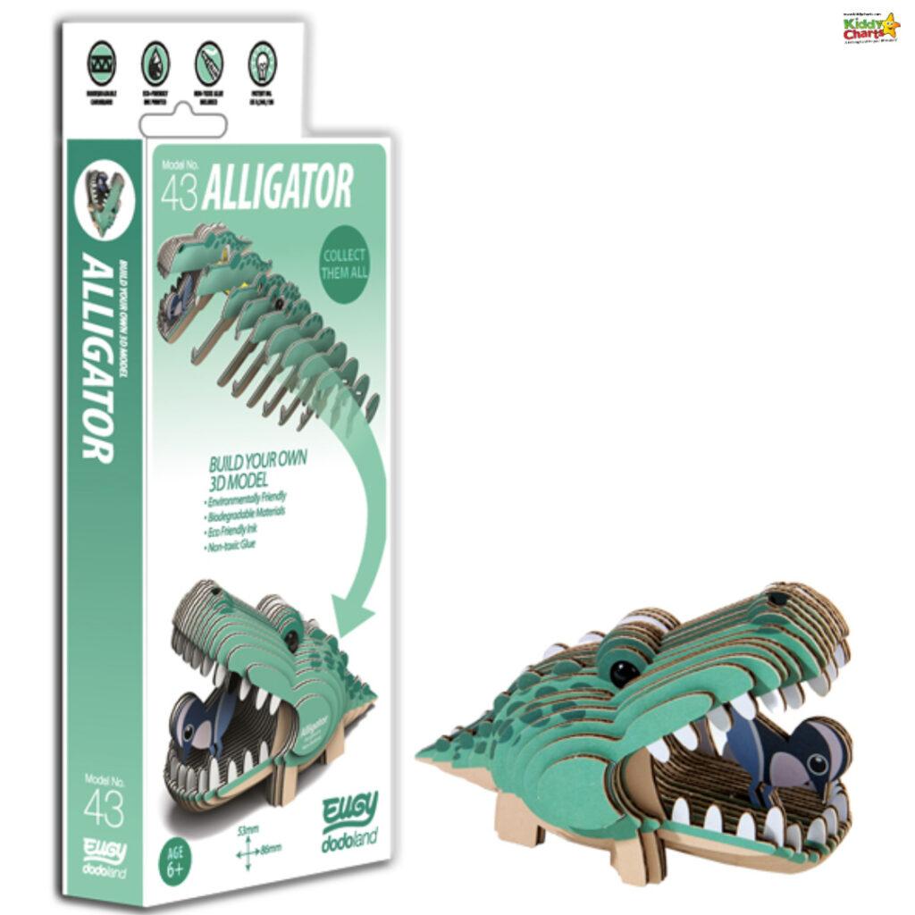 Gift Guide for kids alligator.