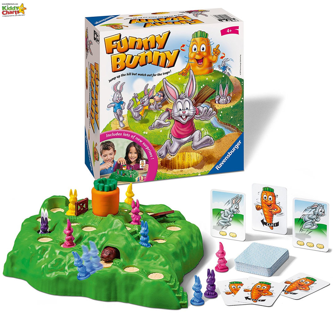 Funny bunny game - boredom busters gift guide