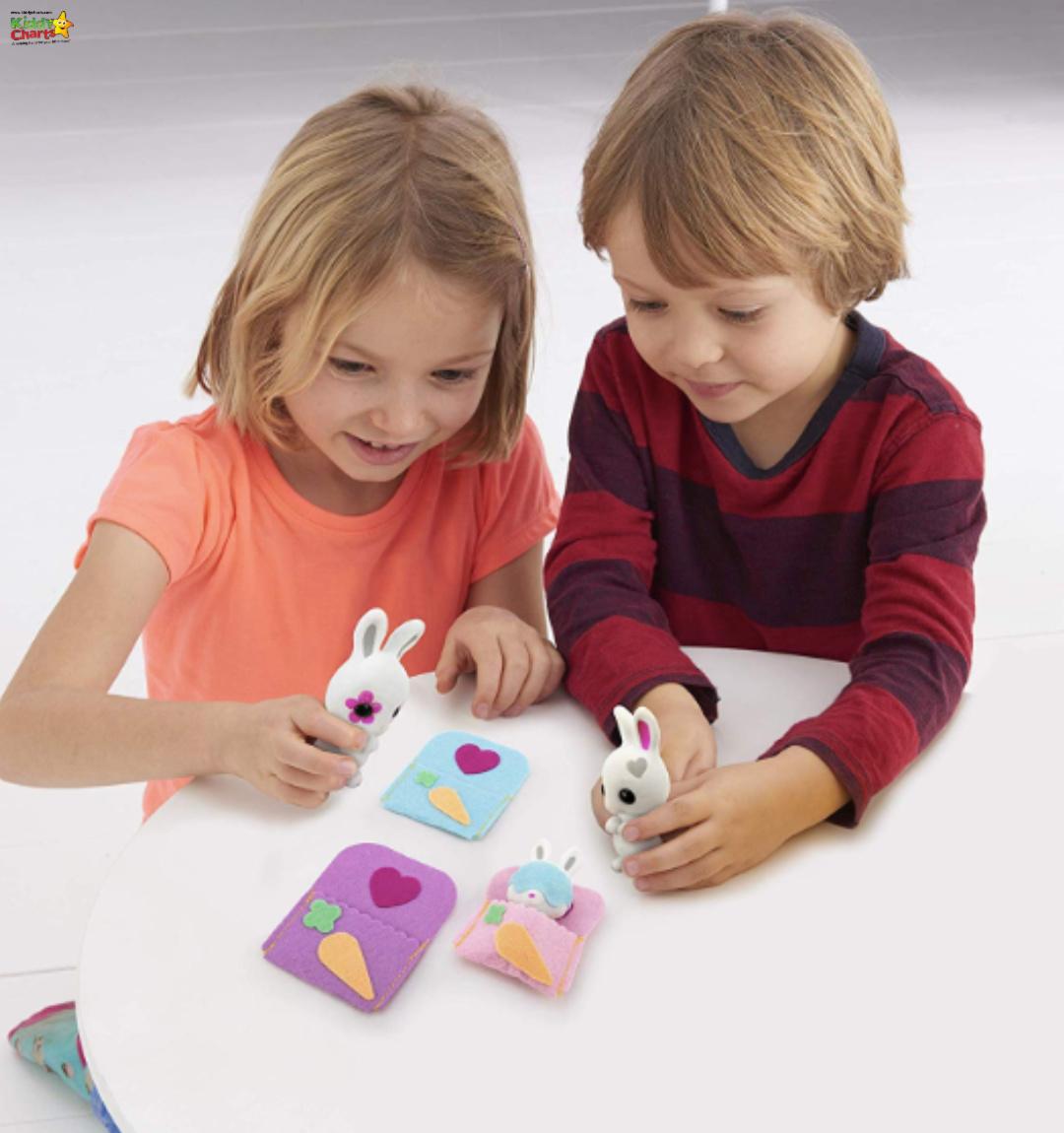 Fuzzikins bedtime bunnies - boredom busters gift guide