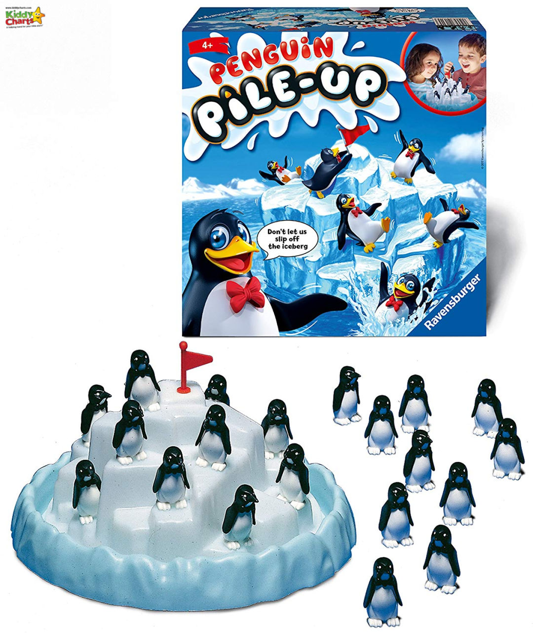 Penguin pile up game - boredom busters gift guide