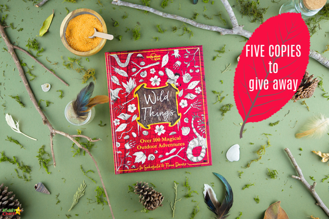 We have FIVE copies of the Wild Things book to giveaway from Lonely Planet Kids; check the comp and the book out on the site today! #giveaways #books #kids #win #prizes