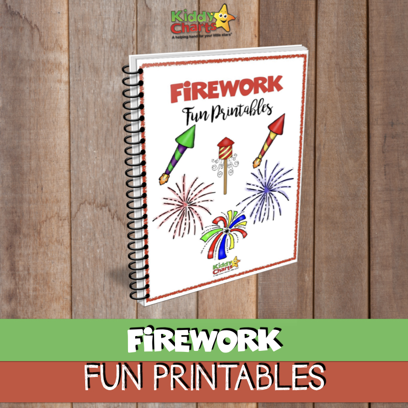 Fireworks fun printables free ebook for children