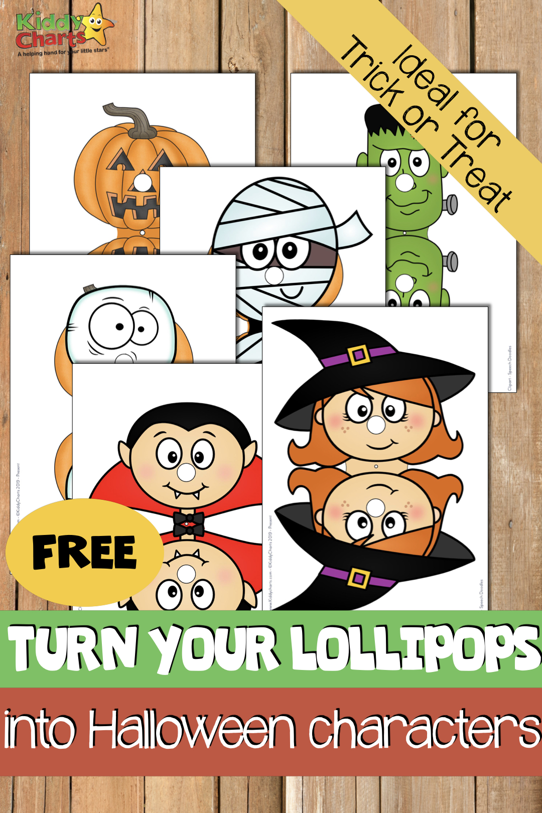 Chupachups Lollipop covers for trick or treating! We've done the Xmas ones, now it is Halloween's turn to get in on the act. Go check they out, they are super cool! #chupachups #lollipops #halloween #trickortreat #trickortreatideas #kids #partybags