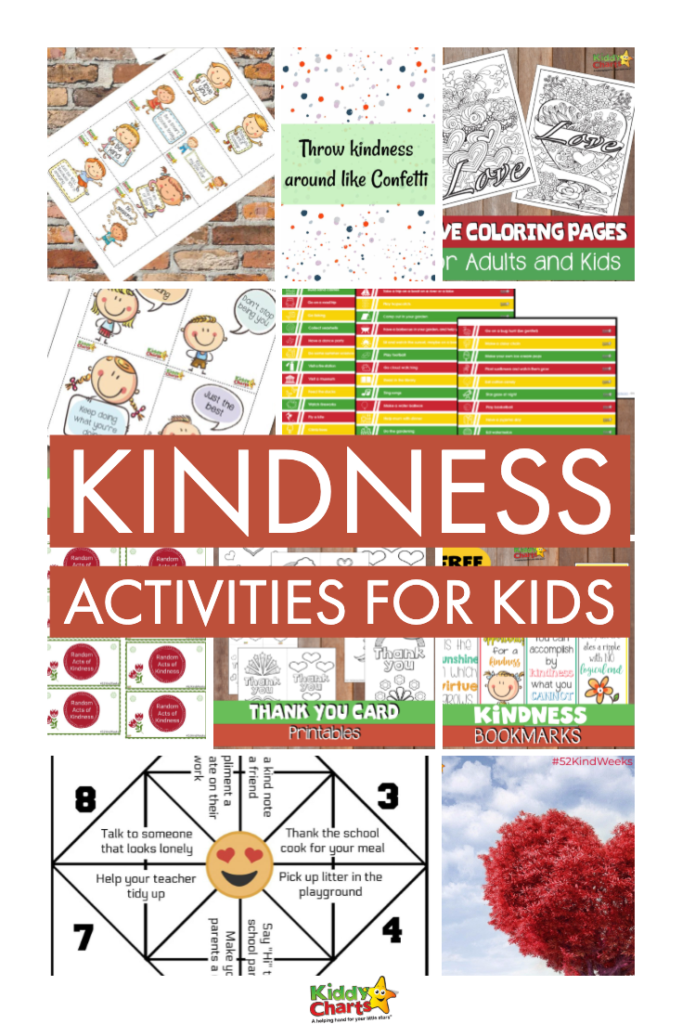 World Kindness Day Printables and activities for kids